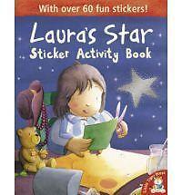 NEW  LAURA'S STAR STICKER ACTIVITY book 60 STICKERS Klaus Baumgart