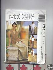 McCALL'S pattern 2795 skirt pant vest top jacket unused SZ 10 12 14