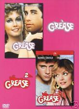 2 DVDs * GREASE + GREASE 2    TRAVOLTA - MUSICAL # NEU OVP