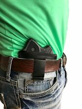 Leather Concealment Belt slide Gun Holster For Jimenez Arms JA-25,JA-22,JA-380