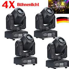 4X 30W RGBW LED Moving Head Effektlicht Bühnenlicht DMX512 DJ Disco Spotlight