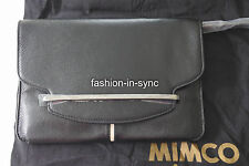 MIMCO Montagerama Envelope Black Clutch Bag New with tags and Dustbag RRP $249