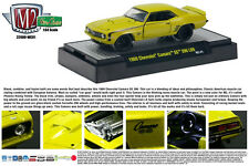 YELLOW 1969 CHEVROLET SS396/L89 CAMARO M2 MACHINES 1:64 SCALE DIECAST METAL CAR