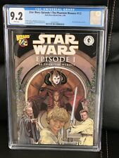 Star Wars The Phantom Menace #1/2 CGC 9.2 Wizard Exclusive, New Slab NM- Beauty