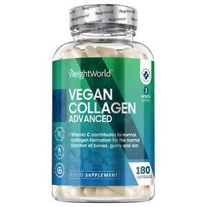 Vegan Collagen 180 Capsules | Supplement for Skin, Hair, Nails & Anti Ageing