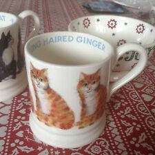 Emma Bridgewater Long Haired Ginger Cat  0.5pt Mug New Best