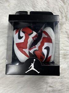 Nike Air Jordan 1 Crib Bootie High OG Chicago White Red BRED Baby Newborn sz 4c
