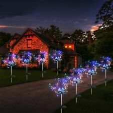 Colorful Garden Lights Solar Fireworks Waterproof Holiday Outdoor Decoration New