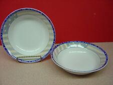 "Sakura China AMERICA THE BEAUTIFUL Two Soup Bowls 7 1/2"""