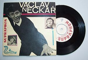 Supraphon Vinyl Single Vaclav Neckar !