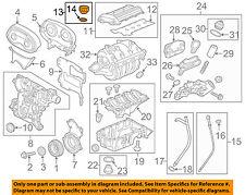 GM OEM Engine Oil-Filler Cap 25192632