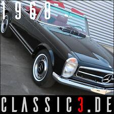 MERCEDES-BENZ 280SL PAGODA 280SL PAGODE SL280 W113 MATCHING ORIGINAL 040-BLACK