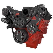 Black Diamond Chevy LS Serpentine Pulley Kit - AC & PS - LS1 LS2 LS3 LS6