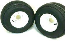 2-18x8.50-8 Golf Tires 5 LUG Wheels For Golf Cart Carts Taylor Dunn EzGo Cushman