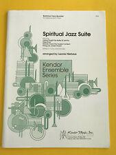 Spiritual Jazz Suite, arr. by Lennie Niehaus, Baritone-Tuba Quartett