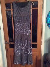 evening dress size 14 pre owned