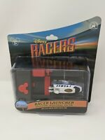 Disney Racers Monorail Racer With Launcher Die Cast Car