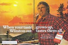 Winston Cigarette 1979 Magazine Advert #2