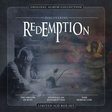 REDEMPTION - ORIGINAL ALBUM COLLECTION: DISVOCERING REDEMPTION 3 CD NEU
