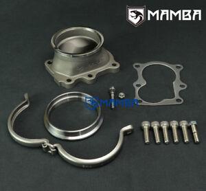 "MAMBA 6 Bolt to 3"" V-band Dump Pipe Flange Kit For Nissan TD42 Patrol GQ GU"