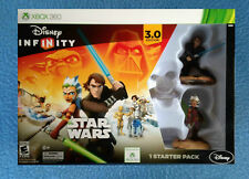 STAR WARS DISNEY INFINITY XBOX 360 3.0 EDITION STARTER PACK SKYWALKER AND TANO