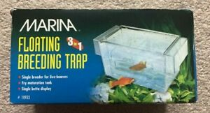 Marina 3 in 1 Breeding Trap Floating Isolation Fry Trap Aquarium Safety Chamber