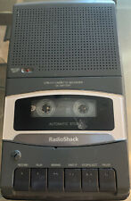 Radio Shack 140-1117 Portable Cassette Recorder Player with CORD WORKING!
