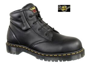 Dr. Martens Men's Icon 7B09 Black Chukka Safety Boot Steel Toe Cap Work Boots