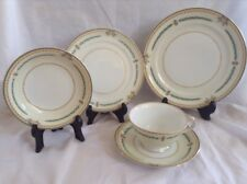 MEITO Elba Porcelain Hand Painted 5 Pc Setting Fine China Japan