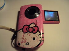 SAKAR HELLO KITTY DIGITAL VIDEO RECORDER WITH CAMERA 38009 UNTESTED