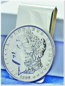 Morgan Silver Dollar Money Clip