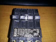 MURRAY MP23020 NIB QUAD BREAKER 2-20A 120V AND 1-30A 240V SEE PICS  #A44