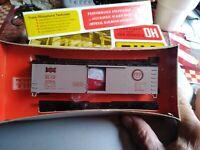 Train Miniature HO Scale Kit# 8065 FRISCO FAST FREIGHT Dbl Sheatned Box Car NEW