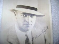 ORIG OLD 5 BY 7   SIGNED PHOTO OF WILLIAM BOYD AKA HOPALONG CASSIDY DAPPER !!