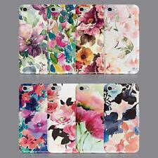 Resorte Floral Shabby Chic Funda de teléfono para IPHONE 7 8 XS XR SAMSUNG S8 S9 Plus