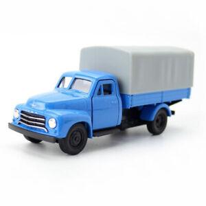 1:36 1952 Opel Blitz Truck Lorry Model Car Diecast Toy Pull Back Blue Kids Gift