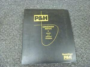 Harnischfeger P&H T250 & T300 Truck Crane Electrical Wiring Diagram Manual