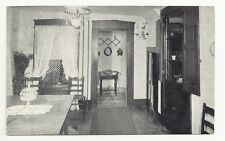 The Dining Room Riley Home Greenfield Indiana Posted 1951 Vintage Postcard