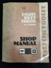 New Listing1983 Chevrolet Light Duty Truck 10-30 Series Shop Manual
