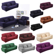 Spandex Stretch Lounge Sofa Couch Seat Cover Slipcover Settee Case Protector