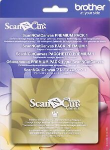[Xmas SALE] Brother ScanNCut CACVPPAC1 Premium Pack 1 (125-pattern collection)
