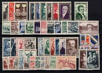 AL140368/ FRANCE / 1952 - 1953 COMPLETE YEARS / Y&T # 919 / 967 USED - CV 247 $
