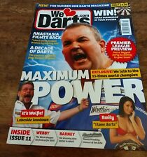 WE LOVE DARTS. Magazine. February 2010. Phil Taylor. Issue #11.