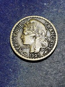 1925 Togo (French Mandate) 50 Centimes Coin #9991
