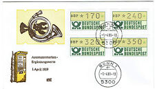 Automatenmarken Kluessendorf VS Ergaenzungserie 1.4.89 !! 170,240,320,350!! ATM
