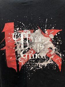 Three Days Grace Black Medium T-Shirt 2007 Tour Norwood Ontario