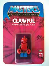 Masters of the Universe HE-MAN Custom Vintage Style Carded CLAWFUL Minifigure