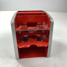 Vintage Arrco Playing Card Shuffler Red Hand Crank