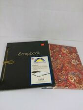2 Jumbo 11.75x14 Scrapbook 100 Pages 50 Sheets