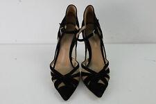 GIANVITO ROSSI Black Suede High Heel Sandals size Eu 35